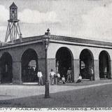 MERCADO CITADINO PANORAMA  hacia 1909 - Matamoros, Tamaulipas