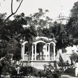 PLAZA PRINCIPAL hacia 1945 - Ciudad Victoria, Tamaulipas
