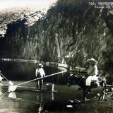 TIPOS MEXICANOS Pescadores de Charal Hacia 1945