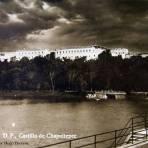 CASTILLO DE CHAPULTEPEC  por HUGO BREHME Hacia 1930