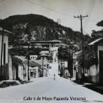 CALLE 5DE MAYO Circa 1945