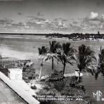 PASEO DEL NUEVO MALECON Circa 1930-1950