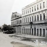 HOTEL Y CALLE Circa 1930-1950