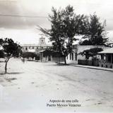 ASPECTO DE UNA CALLE Circa 1930-1950