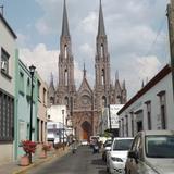Santuario Guadalupano y calle Cazares. Abril/2015