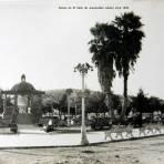 Kiosko de El Salto de Juanacatlan Jalisco circa 1939