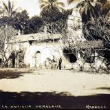 NIÑO CARGANDO A SU HERMANITA Circa 1900-1920 - La Antigua, Veracruz