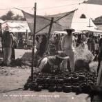 MERCADO Circa 1930-1950 - Amecameca, México