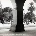 PLAZA ZARAGOZA Circa 1930-1950 - Monterrey, Nuevo León