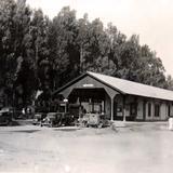 ESTACION FERROVIARIA Circa 1930-1950