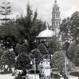 Plaza principal de León (circa 1940)