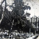 Plaza principal Monterrey N L circa 1930-1950