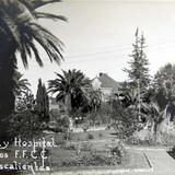 JARDIN Y HOSPITAL DEL FERROCARRIL circa 1930-1950