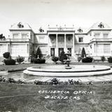 LA RESIDENCIA OFICIAL Circa 1930-1950
