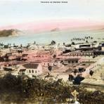 Panorama de Mazatlan Sinaloa circa 1930-1950