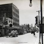 Una Avenida de Chihuahua circa 1930-1950