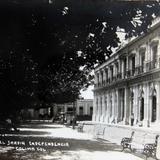 COSTADO DEL JARDIN INDEPENDENCIA Circa 1930-1950