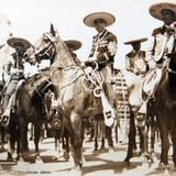 Tipos mexicanos LOS CHARROS Circa 1930-1950
