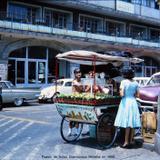Puesto de frutas Cuernavaca Morelos en 1966