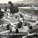JARDIN DEL HOSPITAL DEL ESTADO el 16 de Octubre de 1935