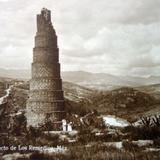 Acueducto de los Remedios Por el fotogrado Hugo Brehme Circa 1930-1950