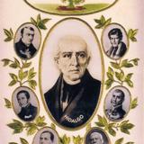 POSTAL DE MIGUEL HIDALGO CONMEMORATIVA DEL CENTENARIO circa 1900-1920