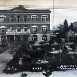 JARDIN HIDALGO Y TEATRO circa 1930-1950