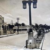 CALZADA EN LA COLONIA CUAHUTEMOC circa 1930-1950