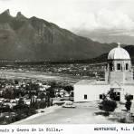 Obispado y el cerro de la Silla circa 1930-1950