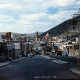 Llegando a Zacatecas en 1956