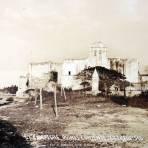RUINAS DE EL CONVENTO DE SAN FRANCISCO Por el fotografo Hugo Brehme Circa 1930-1950