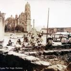 Escena en la Plaza circa 1930