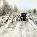 Llegada del Presidente de la Republica Mexicana Porfirio Diaz circa 1907