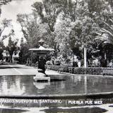 PASEO NUEVO Y EL SANTUARIO circa 1930-1950