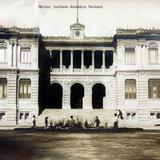 INSTITUTO GEOLOGICO NACIONAL Por el fotografo FELIX MIRET Hacia 1900-1915