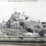 LA VILLA DE GUADALUPE Y EL CERRO DEL TEPEYAC Por el fotografo FELIX MIRET Hacia 1900-1915