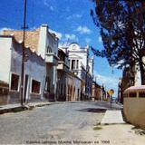 Escena callejera Morelia Michoacan en 1956