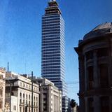 Torre Latinoamericana en Mexico D F  en 1956