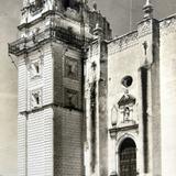 ENTRADA A LA IGLESIA PANORAMA circa 1930-1950