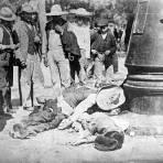 Muertos en la Calle de Balderas, durante la Decena Trágina (1913)