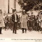 El Padre Pro al ser conducido al lugar del fusilamiento (23 noviembre 1927)
