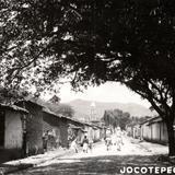 Una calle en Jocotepec