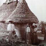 Silos de almacenamiento de Maiz Circa 1900-1930