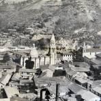 Panorama de Angangueo Michoacan en 1924