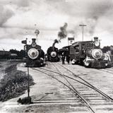 Estacion ferroviaria no identificada hacia 1900-1930