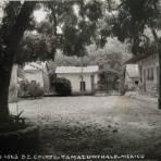 D Z Courts Por el fotografo Hugo Brehme hacia 1930