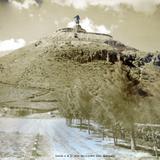 Subida a el El cerro del Cubilete Silao Guanajuato hacia 1930-1950
