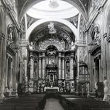 Interior de la Iglesia de San Francisco hacia 1930-1950