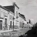Calle Benito Juarez hacia 1920-1940 - Silao, Guanajuato