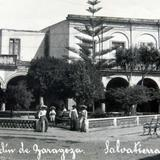 Jardin de Zaragoza hacia 1920-1940
